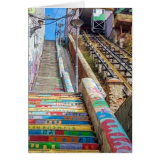 Tarjeta con sobres incluidos, Ascensor, Valparaiso