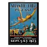 Tarjeta: Concurso de belleza de Atlantic City