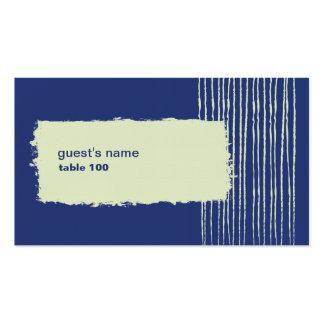 Tarjeta crepuscular del lugar tarjetas de visita