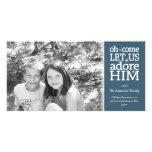Tarjeta cristiana de la foto - día de fiesta del n plantilla para tarjeta de foto