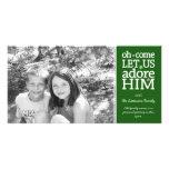 Tarjeta cristiana de la foto - día de fiesta del n tarjeta fotografica