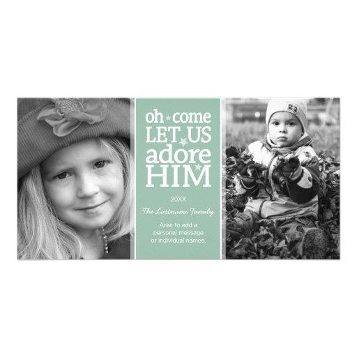 Tarjeta cristiana de la foto - día de fiesta del tarjeta personal