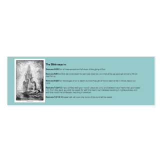 Tarjeta cristiana de la zona 2 de la biblia plantillas de tarjetas personales