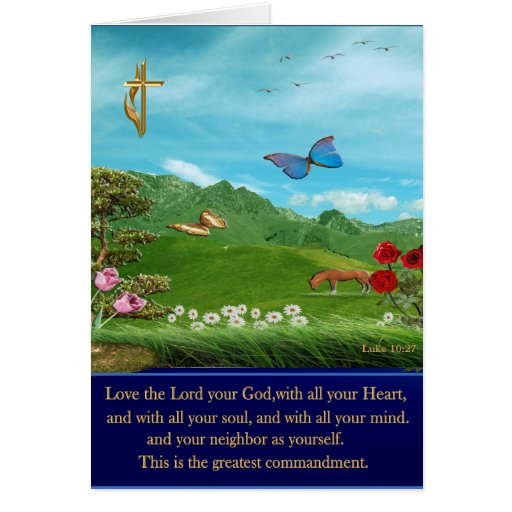 tarjeta cristiana Lucas 27
