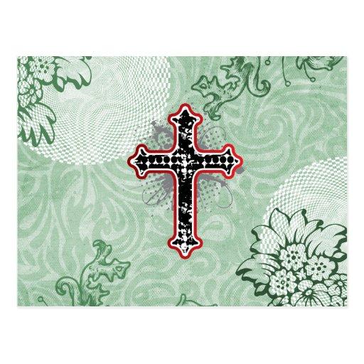Tarjeta cristiana postal