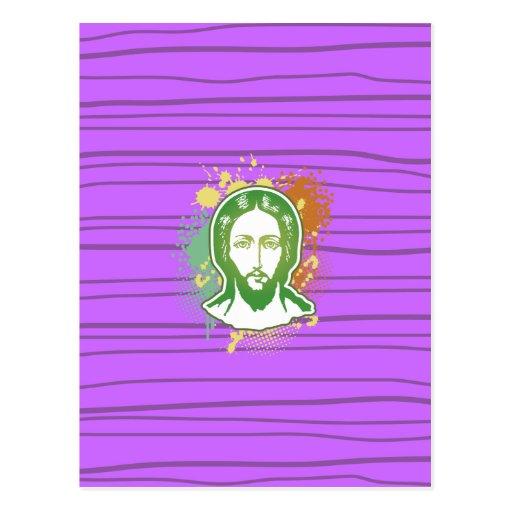 Tarjeta cristiana tarjeta postal