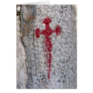Tarjeta cruzada de San Jaime