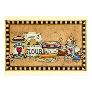 Tarjeta culinaria de la cocina - SRF Tarjetas Personales