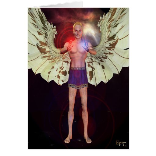Tarjeta curativa del ángel 03
