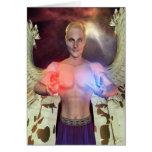 Tarjeta curativa del ángel 04