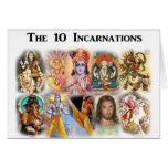 Tarjeta de 10 encarnaciones