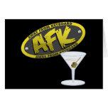 Tarjeta de AFK Martini