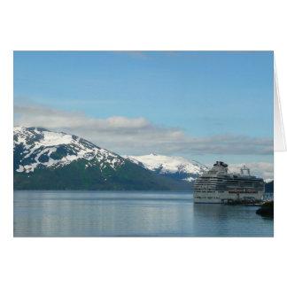 Tarjeta de Alaska de la travesía