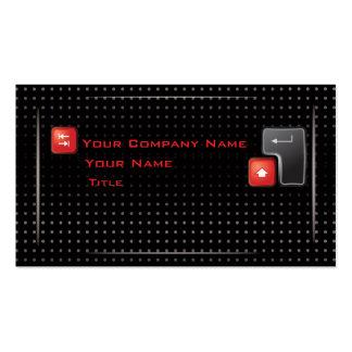 Tarjeta de alta tecnología de la empresa tarjetas de visita