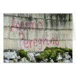 Tarjeta de Animo Peregrino