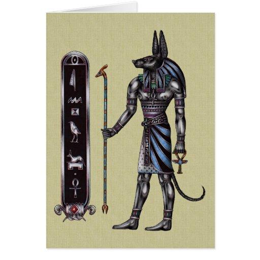 Tarjeta de Anubis