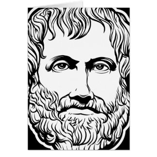 Tarjeta de Aristóteles