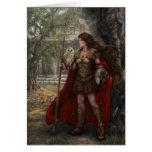 Tarjeta de Athena de la diosa del artista Lindsay