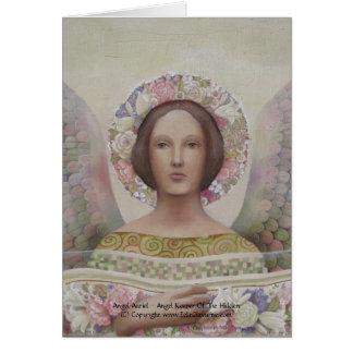 Tarjeta de Auriel del ángel