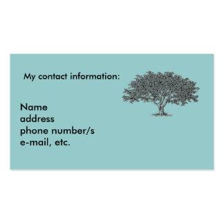 Tarjeta de autobús - investigación de la genealogí plantilla de tarjeta de visita