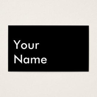 Tarjeta de autobús social tarjetas de visita