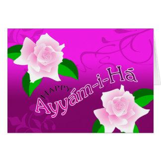 Tarjeta de Ayyám-i-Há