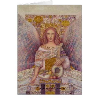 Tarjeta de Barakiel del ángel