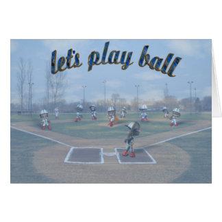 Tarjeta de béisbol