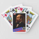 Tarjeta de béisbol de Chester A. Arthur Baraja Cartas De Poker