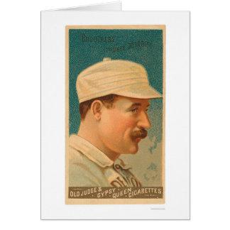 Tarjeta de béisbol de Dan Brouthers 1888