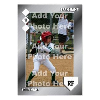 Tarjeta de béisbol de encargo tarjetas de visita