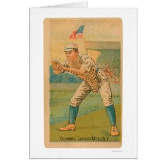 Tarjeta de béisbol de Jim Donohue 1887