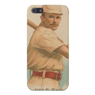 Tarjeta de béisbol de la sala de Juan M iPhone 5 Funda