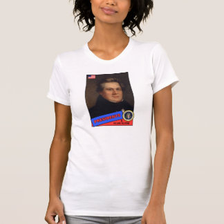 Tarjeta de béisbol de Millard Fillmore Camisetas