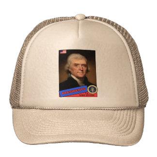 Tarjeta de béisbol de Thomas Jefferson Gorras