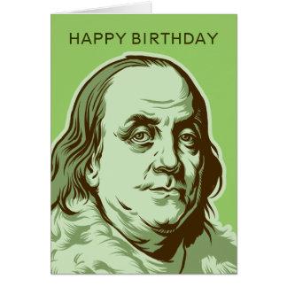 Tarjeta de Ben Franklin