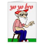 Tarjeta de Bro del yoyo