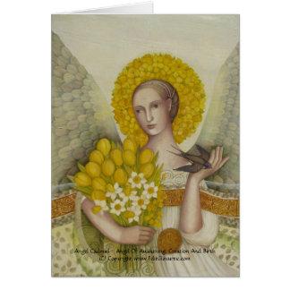 Tarjeta de Cadmiel del ángel