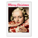 Tarjeta de Carola del navidad