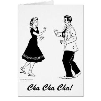 Tarjeta de Cha Cha