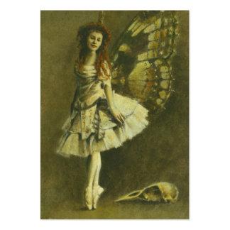 Tarjeta de comercio gótica de los artistas de la h tarjeta de negocio