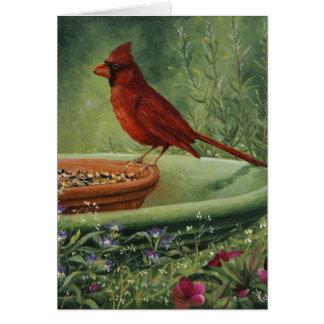 Tarjeta de condolencia de 0487 cardenales