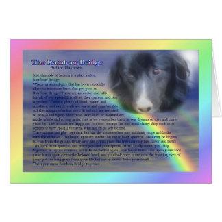 Tarjeta de condolencia de la pérdida del mascota d