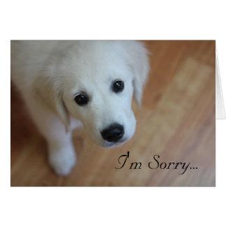 Tarjeta de condolencia, lo siento para…