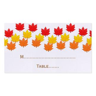 Tarjeta de conexión en cascada del lugar del boda  tarjetas de visita