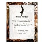 Tarjeta de contestación de Mitzvah de la barra del Invitacion Personal