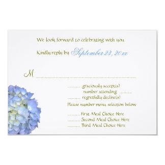 """Tarjeta de contestación del boda de la selección invitación 3.5"""" x 5"""""""