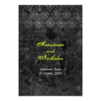Tarjeta de contestación misteriosa del boda de invitación 8,9 x 12,7 cm