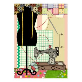 Tarjeta de costura del recinto/del Crafter del reg Tarjeta Personal
