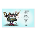 Tarjeta de costura plantillas de tarjetas de visita